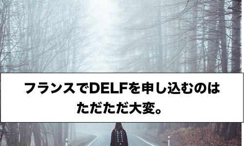 【フランス】でDELF試験を申し込んだ流れ。超大変でした。